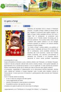Un gatto a Parigi I Lazionauta