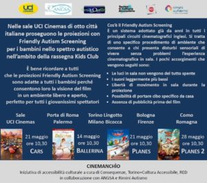 friendly autism screening maggio